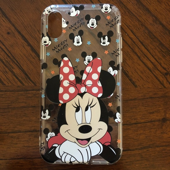 newest bc0d6 4b920 Minnie Mouse iPhone X Case
